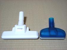 別売の他社(コーワ)製小型ヘッドと専用ヘッド