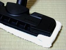 ヘッドと床掃除用クロス(布)・セット済