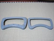 左がスタイル、右がベーシックのカーペットリング