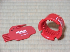 ブラシクリーニングツール・カッター(左)/リング(右)
